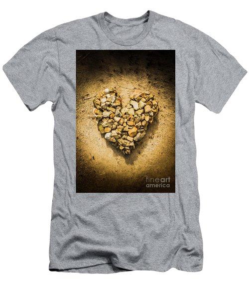 Rustic Rock Romance Men's T-Shirt (Athletic Fit)