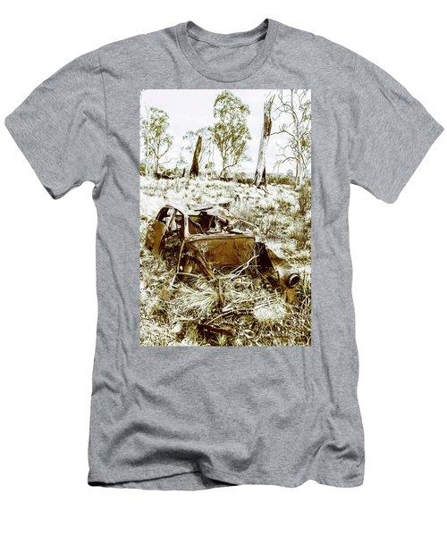 Rustic Rural Decay Men's T-Shirt (Athletic Fit)