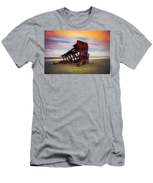 Rusting Shipwreck Men's T-Shirt (Athletic Fit)