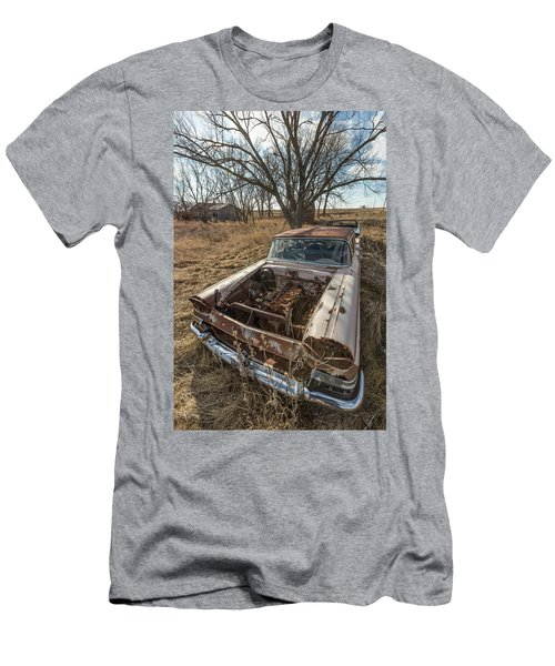 Men's T-Shirt (Slim Fit) featuring the photograph Rusty by Aaron J Groen