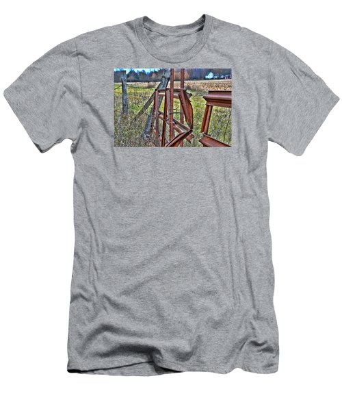 Rusty Gate Men's T-Shirt (Athletic Fit)