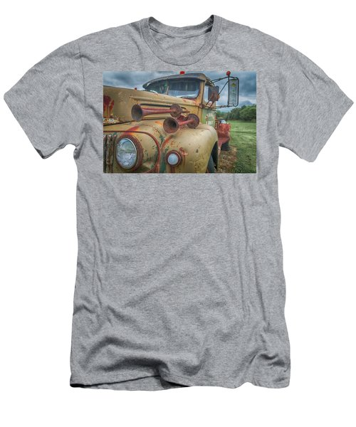 Men's T-Shirt (Athletic Fit) featuring the photograph Rusty Horns by Guy Whiteley