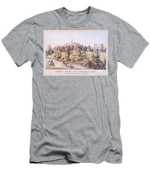 Rutgers College In New Brunswick New Jersey 1849 Men's T-Shirt (Athletic Fit)