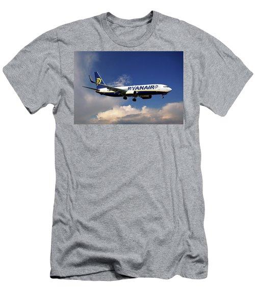 Ryanair Boeing 737-8as  Men's T-Shirt (Athletic Fit)