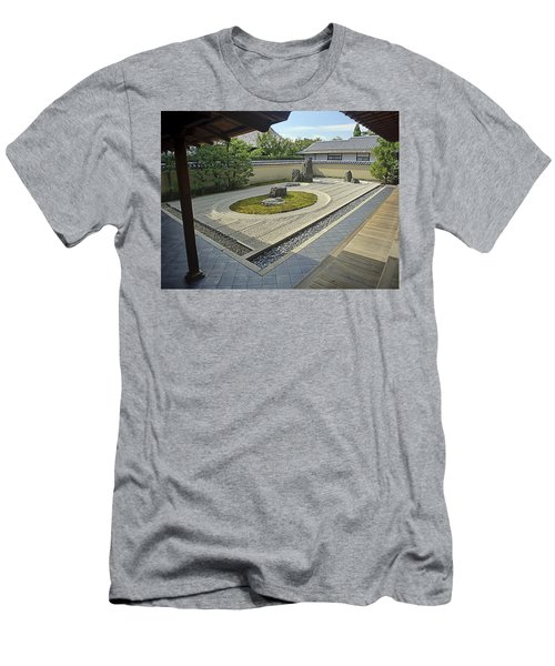 Ryogen-in Zen Rock Garden - Kyoto Japan Men's T-Shirt (Athletic Fit)