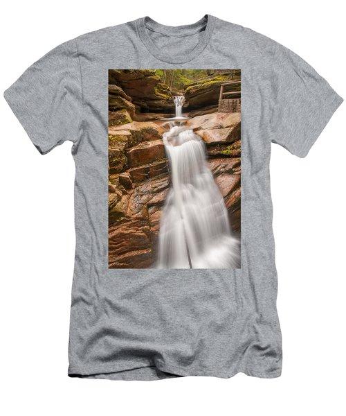 Sabbaday Falls Men's T-Shirt (Athletic Fit)