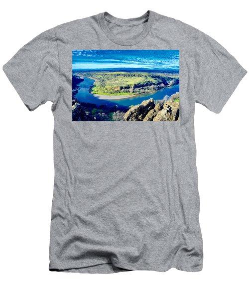 Sacramento River Men's T-Shirt (Athletic Fit)