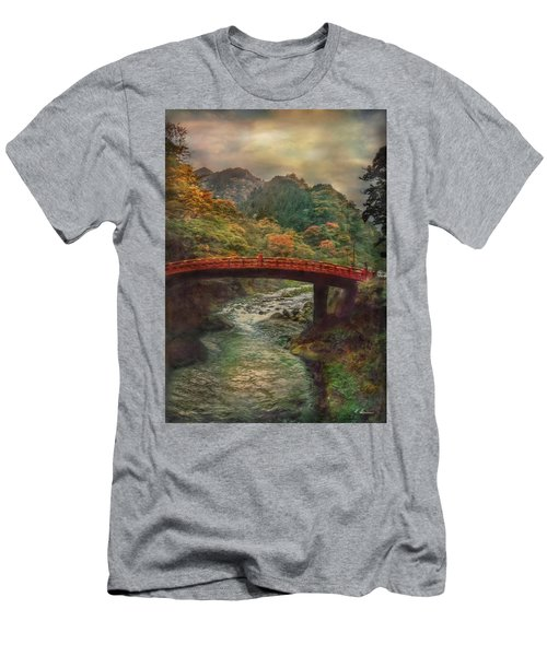 Men's T-Shirt (Athletic Fit) featuring the photograph Sacred Bridge by Hanny Heim