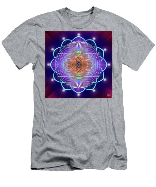 Sacred Geometry 641 Men's T-Shirt (Athletic Fit)