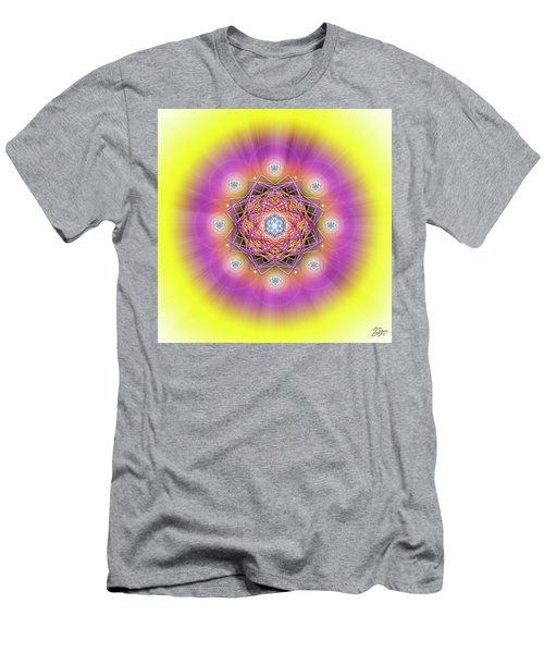 Sacred Geometry 643 Men's T-Shirt (Athletic Fit)