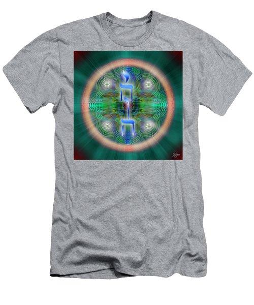 Sacred Geometry 648 Men's T-Shirt (Athletic Fit)