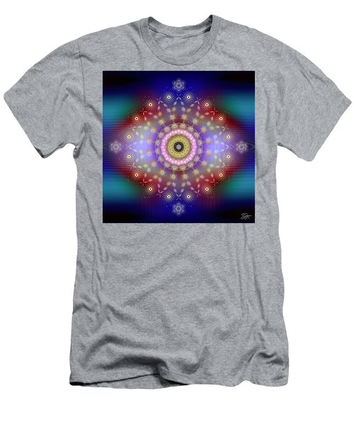 Sacred Geometry 650 Men's T-Shirt (Athletic Fit)