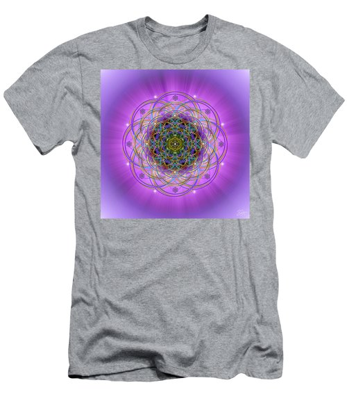 Sacred Geometry 715 Men's T-Shirt (Athletic Fit)