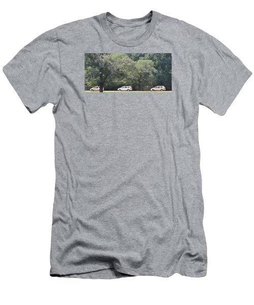 Safari Cars Men's T-Shirt (Slim Fit) by James Potts