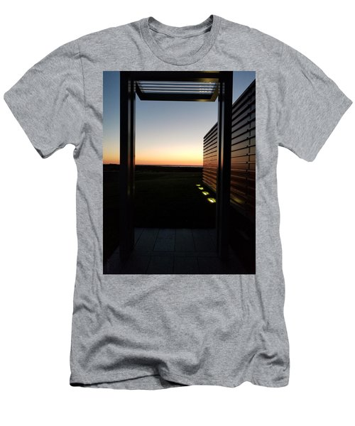 Men's T-Shirt (Athletic Fit) featuring the photograph Sag Harbor Sunset 2 by Rob Hans
