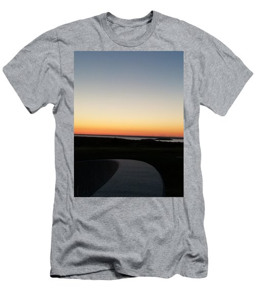 Men's T-Shirt (Athletic Fit) featuring the photograph Sag Harbor Sunset 3 by Rob Hans