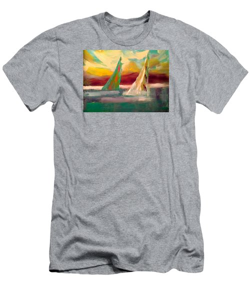 Sail Away 1 Men's T-Shirt (Athletic Fit)
