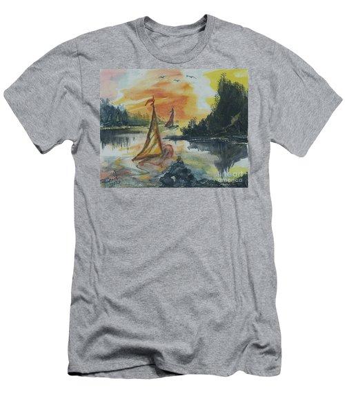 Sail Away Men's T-Shirt (Athletic Fit)