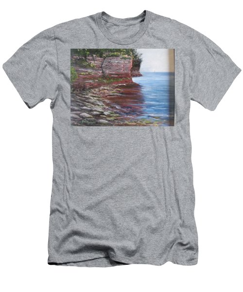 Sail Into The Light Men's T-Shirt (Athletic Fit)