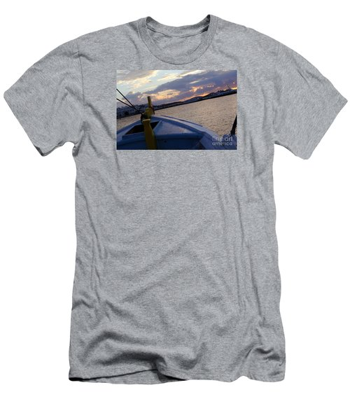 Men's T-Shirt (Slim Fit) featuring the photograph Sailing by Haleh Mahbod