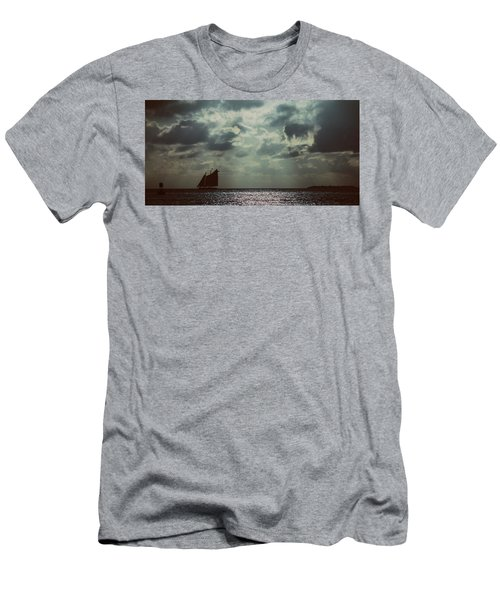 Sailing Men's T-Shirt (Slim Fit) by Scott Meyer