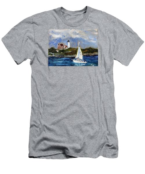 Sailing To Martha's Vineyard Men's T-Shirt (Athletic Fit)