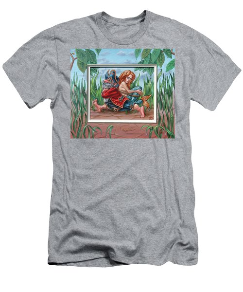 Sailor And Mermaid Men's T-Shirt (Athletic Fit)