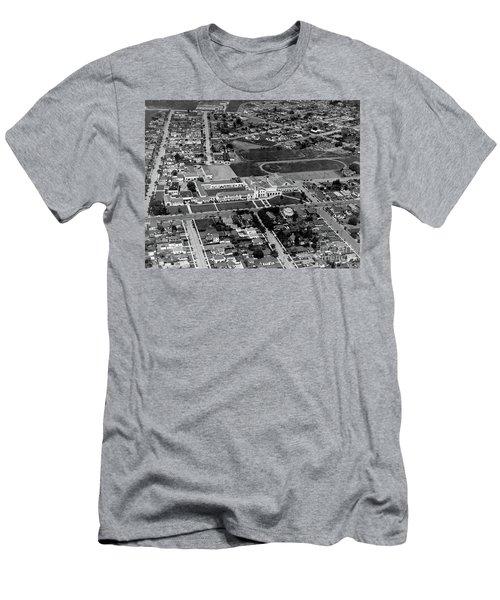 Salinas High School 726 S. Main Street, Salinas Circa 1950 Men's T-Shirt (Athletic Fit)
