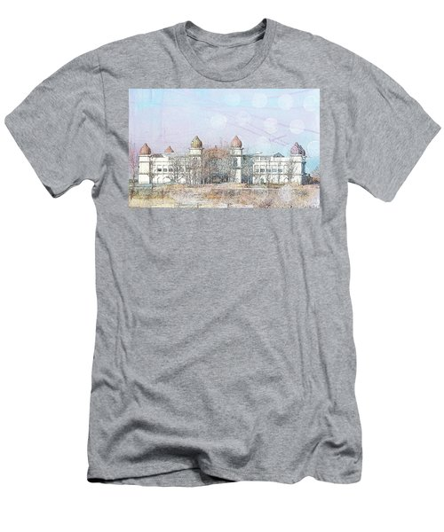 Men's T-Shirt (Slim Fit) featuring the photograph Salt Air by Cynthia Powell