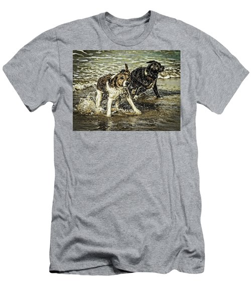 Salt And Shake Men's T-Shirt (Athletic Fit)