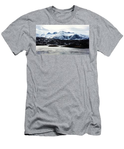 Saltstraumen Men's T-Shirt (Slim Fit) by Tamara Sushko