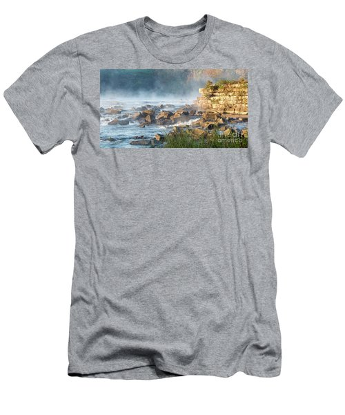 Saluda River At Daybreak Men's T-Shirt (Athletic Fit)