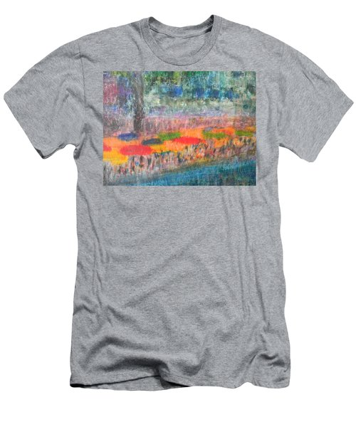 San Antonio By The River II Men's T-Shirt (Athletic Fit)