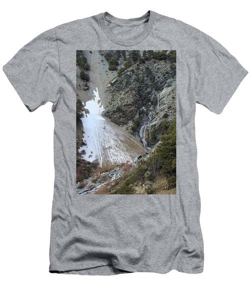 Men's T-Shirt (Slim Fit) featuring the photograph San Antonio Waterfalls by Viktor Savchenko