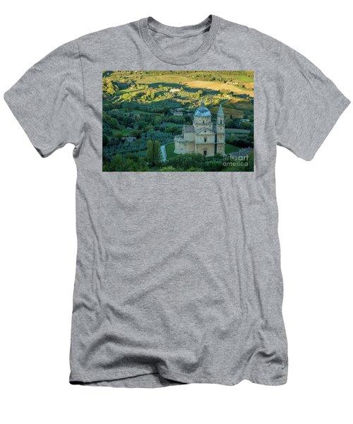 Men's T-Shirt (Slim Fit) featuring the photograph San Biagio Church by Brian Jannsen