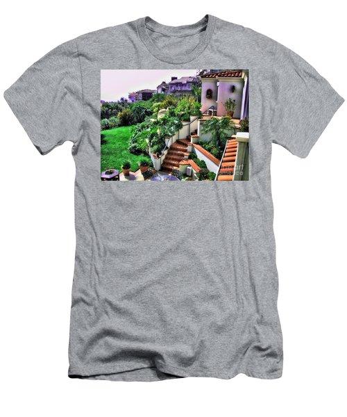 San Clemente Estate Backyard Men's T-Shirt (Athletic Fit)