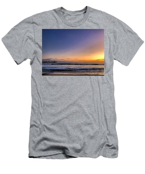 Men's T-Shirt (Athletic Fit) featuring the photograph San Clemente Sunset by Brian Eberly