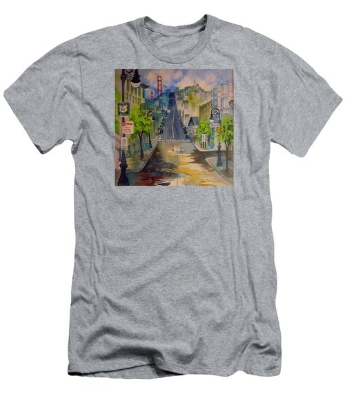 San Fran Street Men's T-Shirt (Athletic Fit)