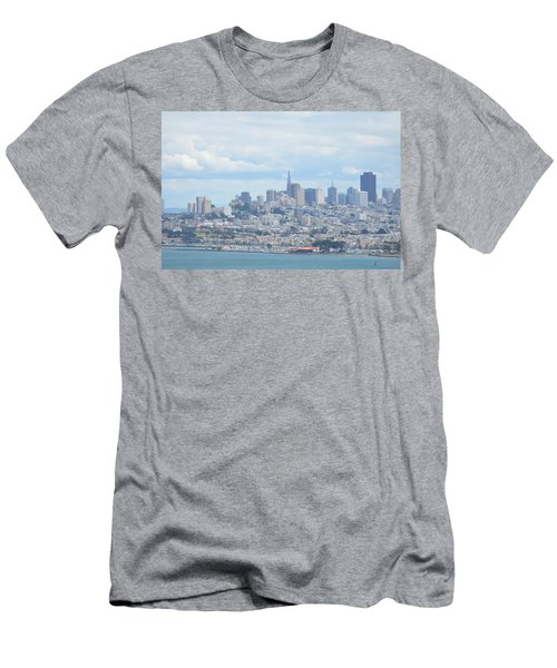 Men's T-Shirt (Slim Fit) featuring the photograph San Francisco by Alex King