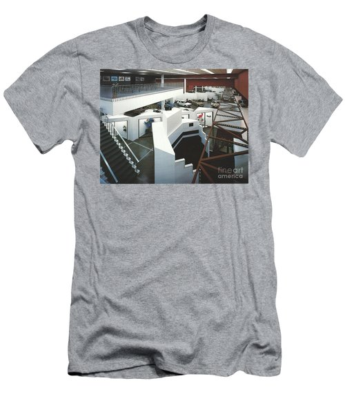 San Francisco Autocenter Men's T-Shirt (Slim Fit) by Andrew Drozdowicz