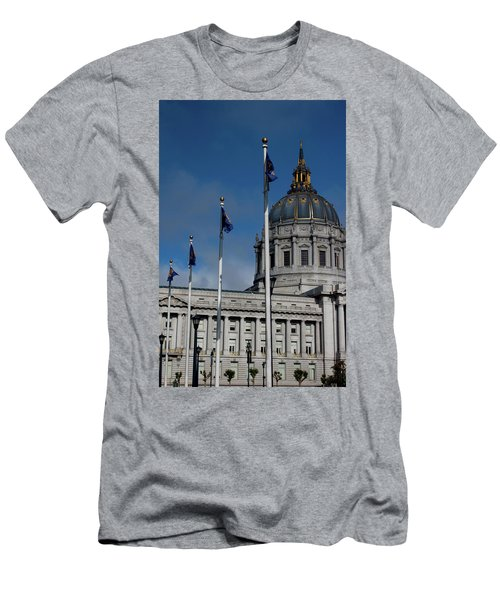 San Francisco City Hall Men's T-Shirt (Athletic Fit)