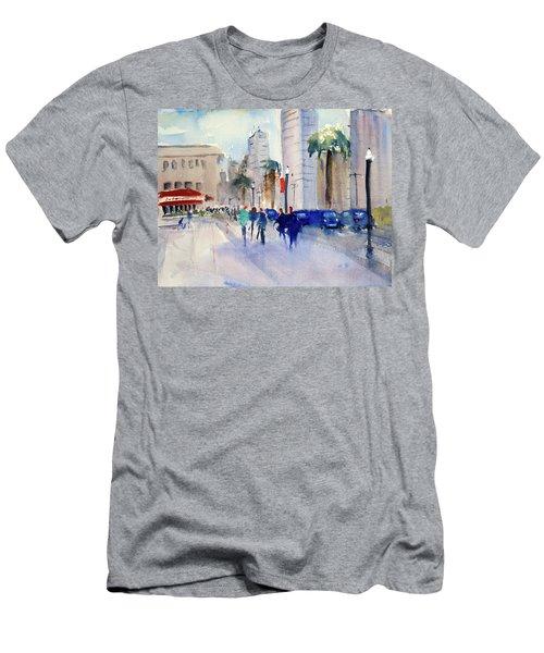 San Francisco Embarcadero1 Men's T-Shirt (Athletic Fit)