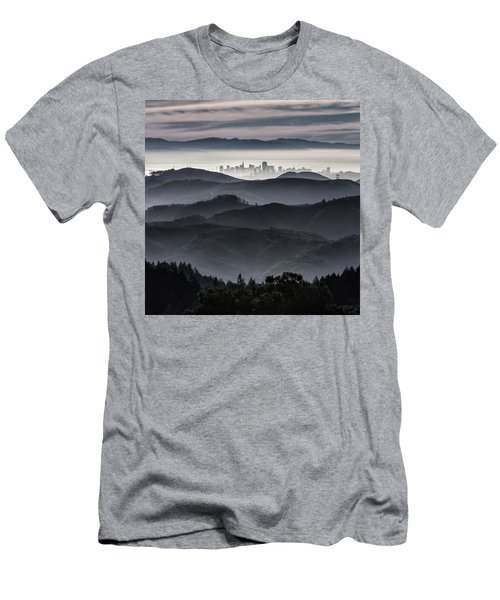 San Francisco Seen From Mt. Tamalpais Men's T-Shirt (Athletic Fit)