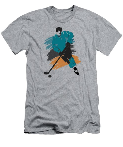 San Jose Sharks Player Shirt Men's T-Shirt (Athletic Fit)