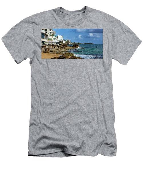 San Juan Bay In Puerto Rico Men's T-Shirt (Athletic Fit)