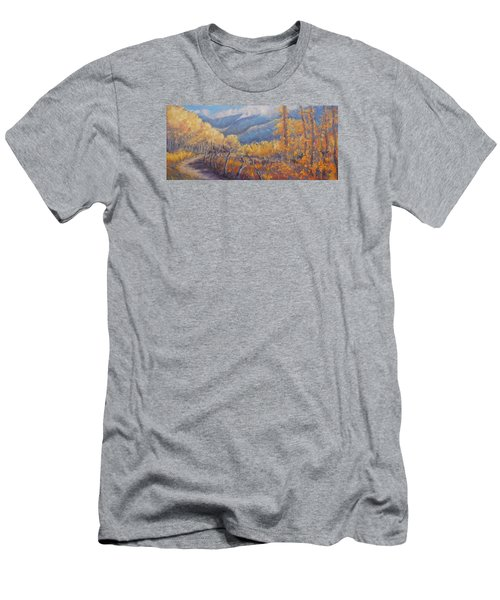 San Juan Mountain Gold Men's T-Shirt (Athletic Fit)