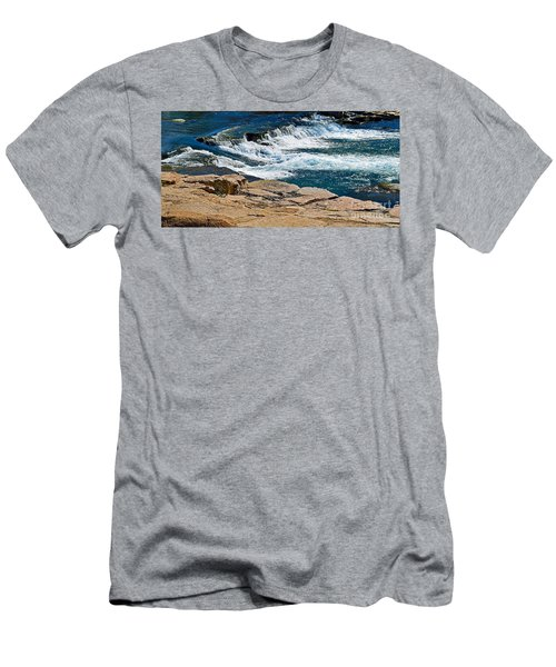 San Marcos River Waterfall  Men's T-Shirt (Athletic Fit)