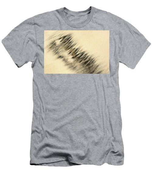 Sand Painting Men's T-Shirt (Athletic Fit)