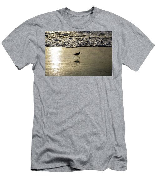 Sand Piper Dash Men's T-Shirt (Athletic Fit)