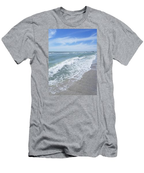Sand, Sea, Sun, No.2 Men's T-Shirt (Athletic Fit)